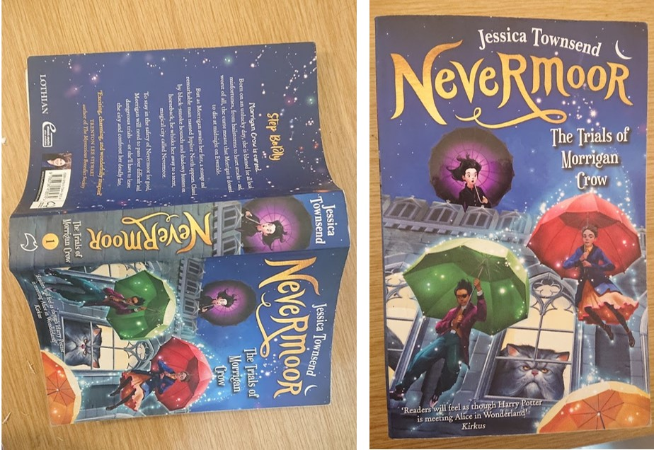 Nevermoor: The Trials of Morrigan Crow by Jessica Townsend Cover