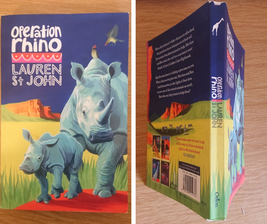 Cover art of Operation Rhino by Lauren St John