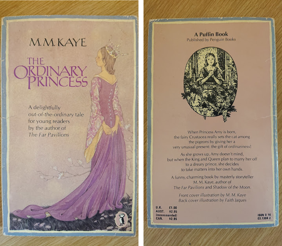 Cover of The Ordinary Princess (original) by M. M. Kaye