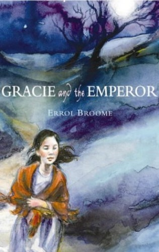 Front cover of Gracie and the Emperor, Errol Broome, blue-themed