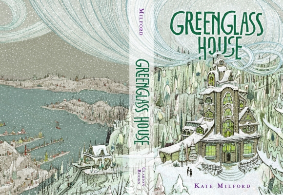 Greenglass House front and back cover